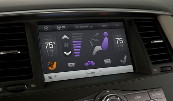 Case Studies – Nissan Touch UI