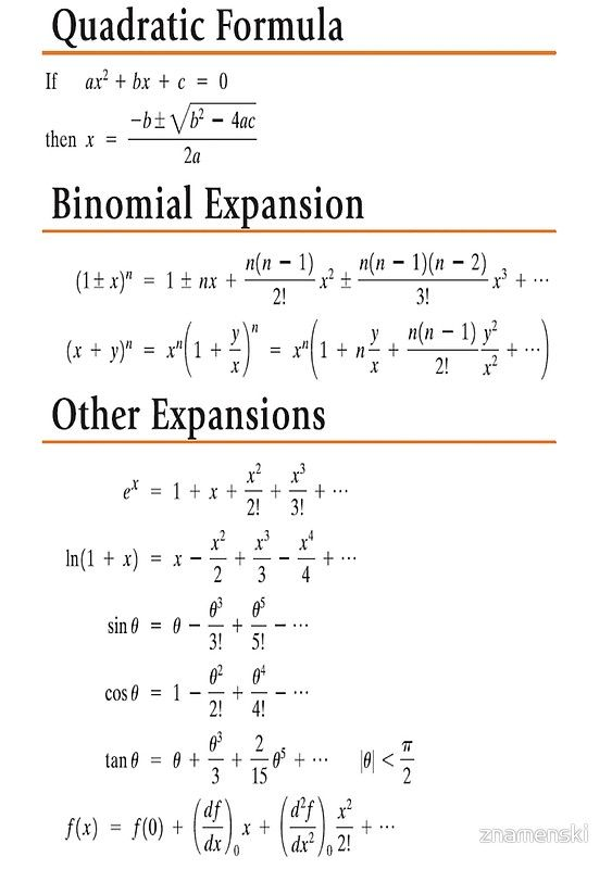 Buy Quadratic Formula Binomial Expansion Other Expansions