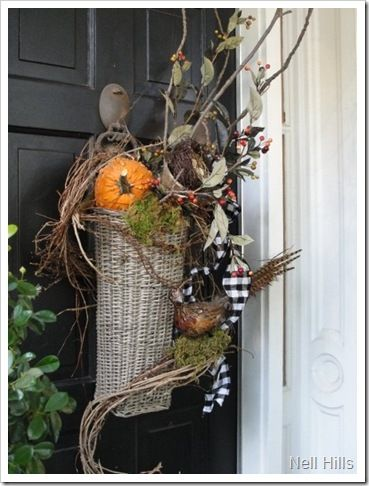 Fall Front Urn Ideas | 10.17.11 Day 17: Re-Purposing & Inspir-Shopping {31-Days Series Heart ...