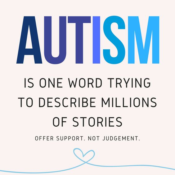 #Autism is one word trying to describe millions of stories. https://www.speechmark.net #AutismAwareness #ASD #Autistic: