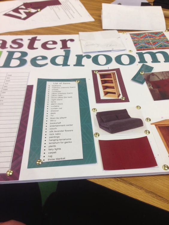 my housing and interior design lesson plan