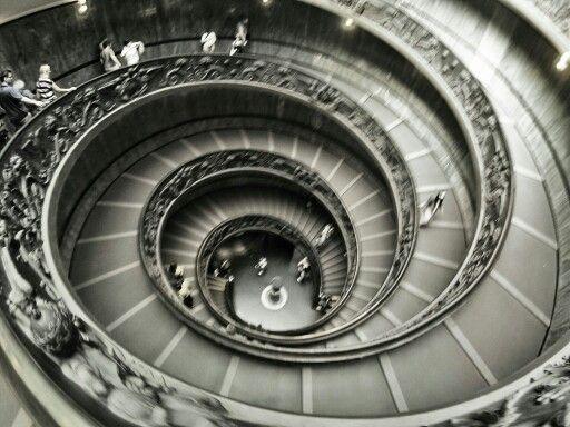 Salida Museo del Vaticano
