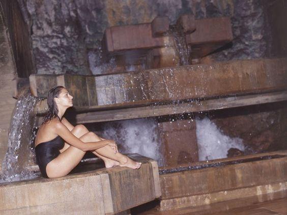 cascada-natural Balneario Termas Pallarés