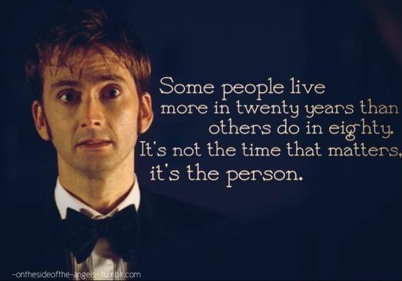 - tenth Doctor (a.k.a. the sexiest man alive)