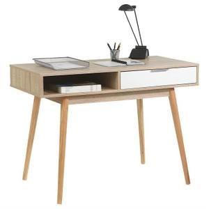 Console Levante Table D Appoint Style Scandinave Bureau 1 Tiroir