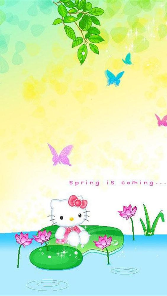Www Bing Comhellao: Spring Iphone Wallpaper - Bing Images