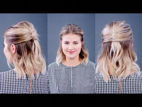 Hairstyle Of The Day Half Up Half Down French Twist Milabu Youtube French Twist Hair Long Hair Styles Girl Haircuts