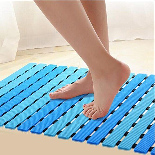 Ifrmmy Non Slip Bath Shower Floor Mat With Drain Hole And Https