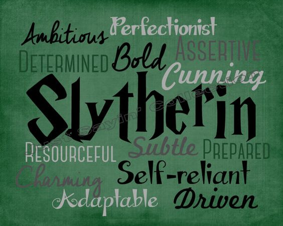 This print celebrates the unique traits of the House of Slytherin. *Print does not come with any frame or matte. *Prints are for personal use