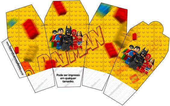 Caixa China in Box Batman Lego Super Heroes: