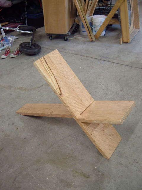 C mo hacer sillas de madera construccion y manualidades - Hazlo tu mismo manualidades ...