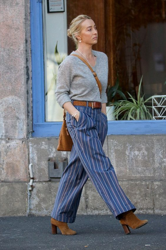 Filming Offspring season 6 - Asher Keddie (Nina Proudman) - I like Nina' style in season 6....: