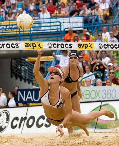 Kerri Walsh awesome volleyball player!