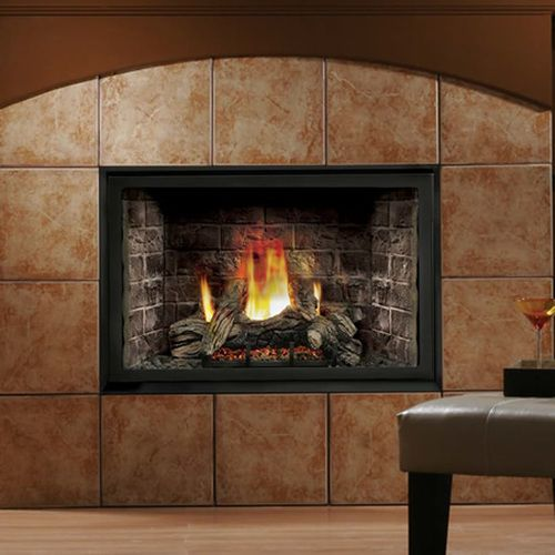 Kingsman Hb4228 Zero Clearance Direct Vent Gas Fireplace In 2020