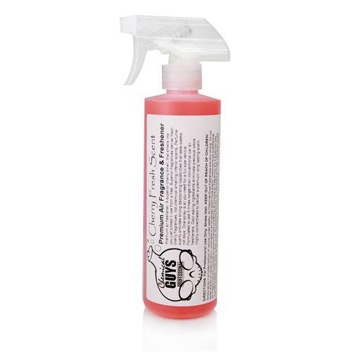 Chemical Guys AIR_103_16 - Cherry Fresh Scent Premium Air Freshener & Odor Eliminator (16 oz)