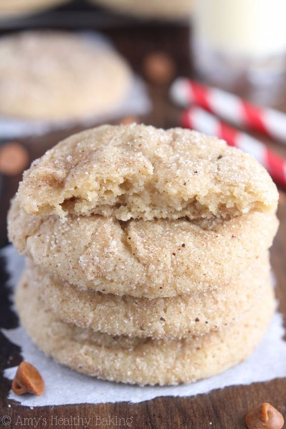 This is the only eggnog cookie recipe you Eggnog Snickerdoodles