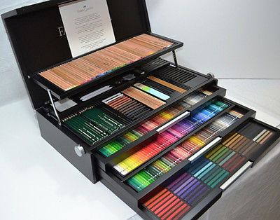 Faber castell 250th anniversary collection wooden box