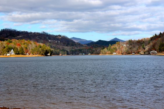 Autumn on Lake Burton, GA. Best place ever.