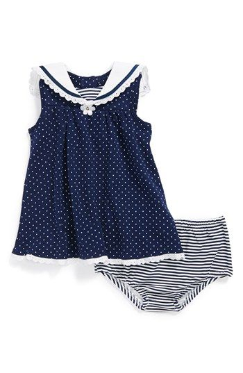 Little Me Daisy Dress & Bloomers (Baby Girls) | Nordstrom