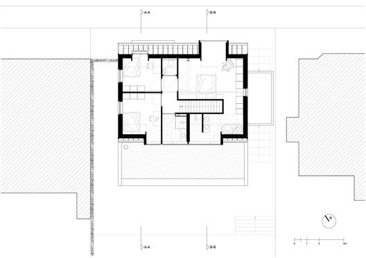 Gallery Of House Akerdijk Arjen Reas Architects 24 In 2020 Architect Architect House House Floor Plans