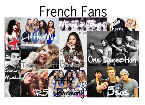 """""""French Fans profil group"""" by ines-lynch ❤ liked on Polyvore featuring art"""