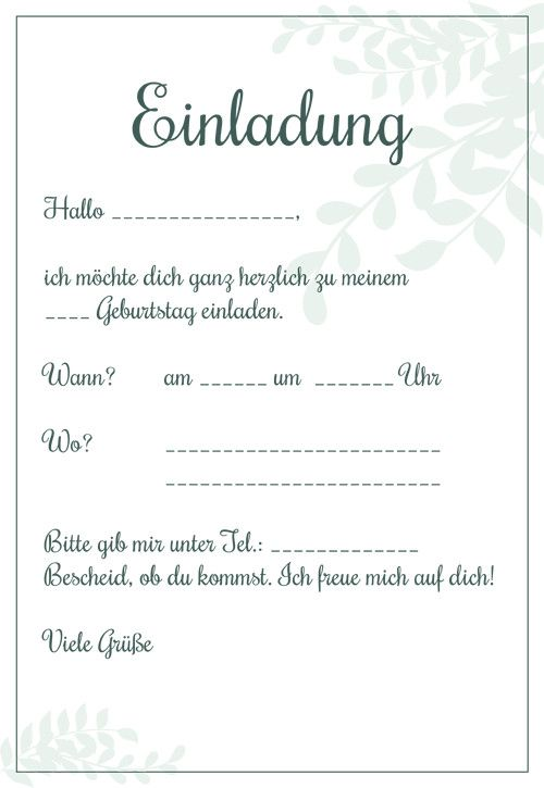 Einladungskarten Kindergeburtstag Zum Ausdrucken Die 20 Besten Ideen Fur E Party Invite Template Birthday Party Invitation Templates Birthday Party Invitations