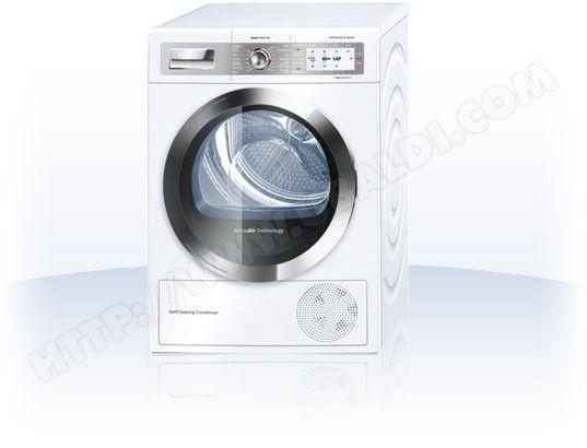 Seche linge Condensation BOSCH WTY88880FF 859€ en stock 8kg 112L A++