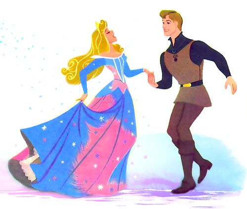 Sleeping Beauty. I love this one because her dress is true to form of how the story really went with both pink AND blue
