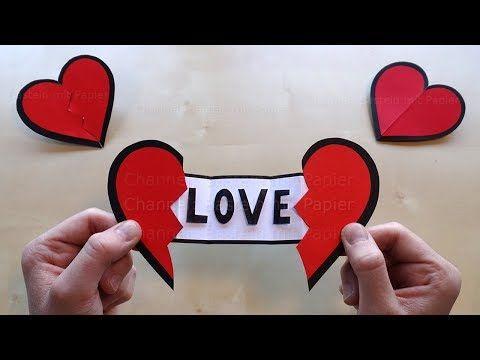 Carte En Forme De Coeur Carte Pour La Fete Des Mere Cadeaux