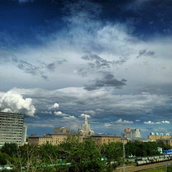 #moscow #summer #sky #clouds #landscape - @dgotskin- #webstagram