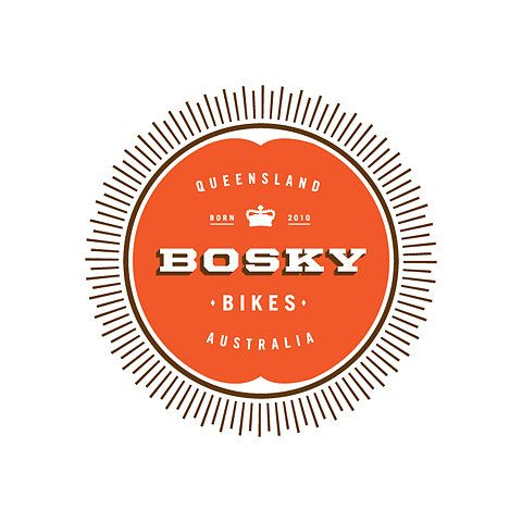 Bosky logo: Bike Shop Logo