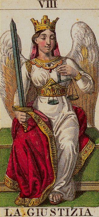 Arcana Tarot. Notice The Watchful Eye On
