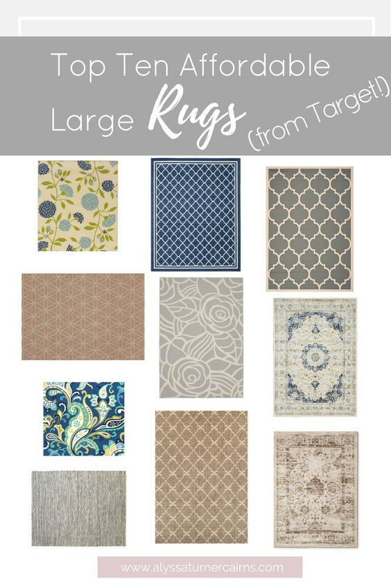 When I shop for rugs at this stage of our life, I want value and durability AND I want them to look like they were WAY more expensive than they really were!