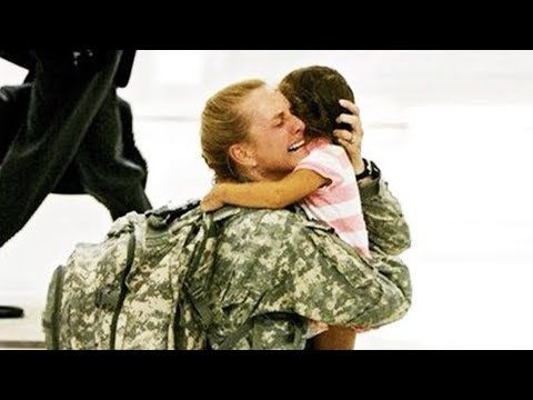 Soldiers Coming Home Emotional Compilation Youtube Military Photos Soldiers Coming Home Military