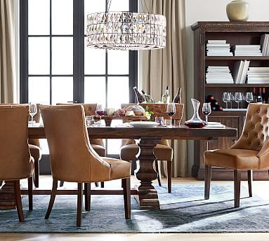 Banks Extending Dining Table Alfresco Brown Extendable Dining