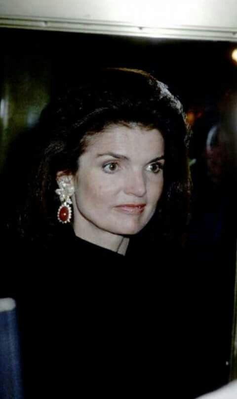 Jackie Kennedy ...                                                       …