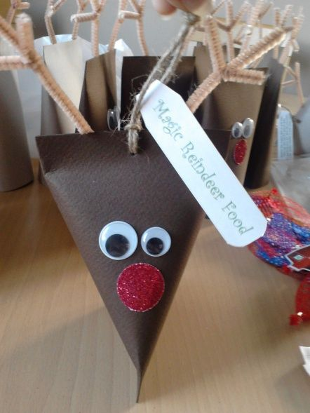 Christmas crafts for the kids toilet paper roll and pipe cleaners: