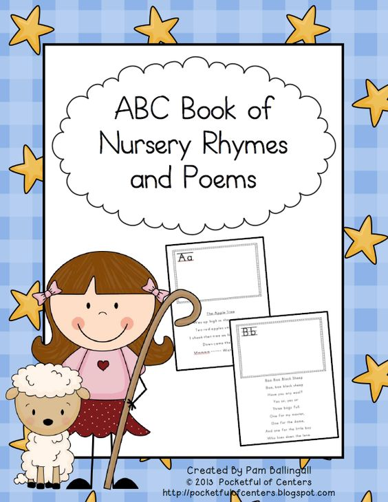 ABC Book of Nursery Rhymes and Poems