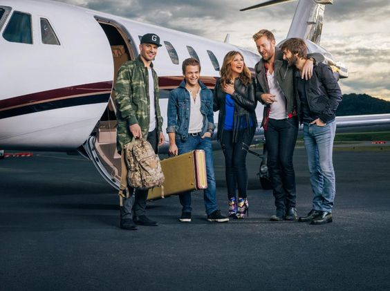 .@LadyAntebellum is hunkering down for their #WHEELSUPTOUR with @HunterHayes & @SamHuntMusic. http://ow.ly/GU0Lc