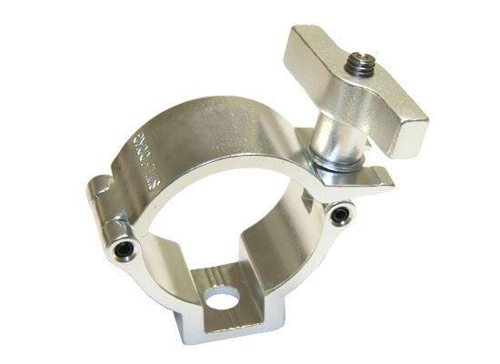 SChelle für Stehlampe mit Betonfuss zum eingiesen --- Sweettruss HS 812-E Easy Schelle (48-51mm) SILBER