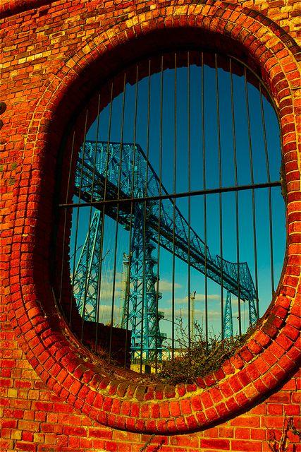 Transporter Bridge - Middlesbrough, via Flickr.