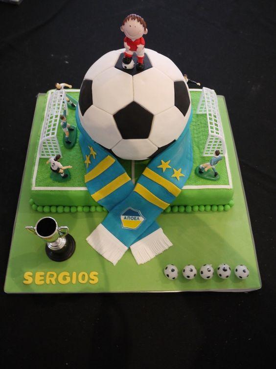 Soccer Ball Cake 2 Children S Birthday Cakes Birthday