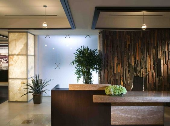 interior design columns - Office reception, olumns and Lobby reception on Pinterest
