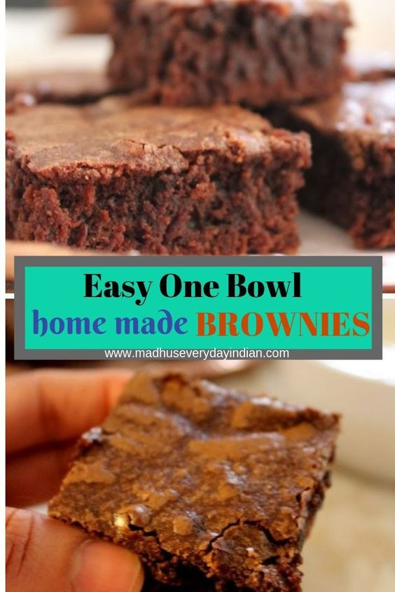 The Best Brownie Ever | Easy Brownie Recipe | Madhu's Everyday Indian