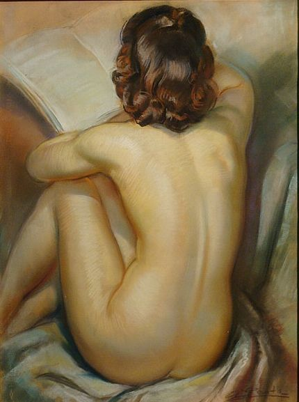 Albert Genta    Nude reading: