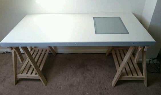 Pinterest the world s catalog of ideas - Drafting desks ikea ...
