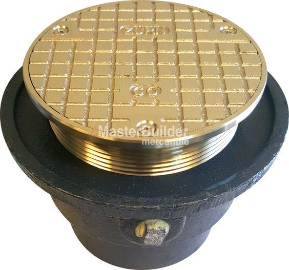 Zurn ZN1602 Adjustable Nickel Bronze Cleanout, Medium-Duty – MasterBuilder Mercantile Inc.