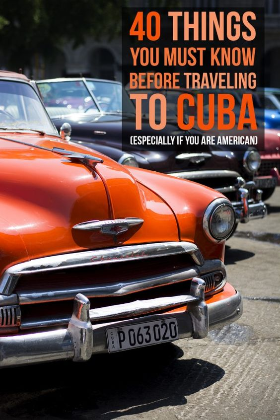 40 Things You Must Know Before Traveling To Cuba (Especially If You're American)