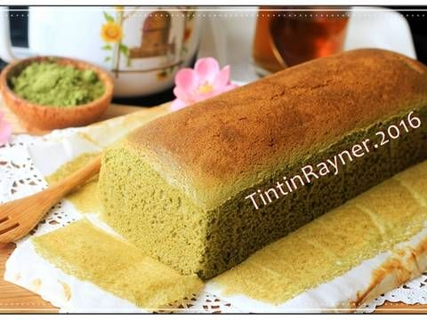 Resep Castella Green Tea Aka Kasutera Traditional Japanese Honey Cake Oleh Tintin Rayner Resep Resep Roti Hot Dog Tintin