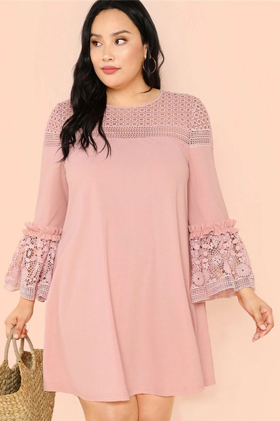 24 Plus Size Dresses To Rock This Season outfit fashion casualoutfit fashiontrends